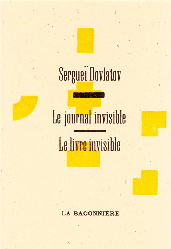 LE JOURNAL INVISIBLE